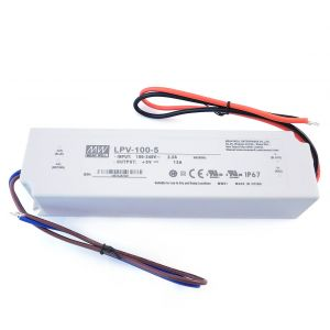 Meanwell IP65 5V 100W Power Supply 90-265V Constant Voltage PSU