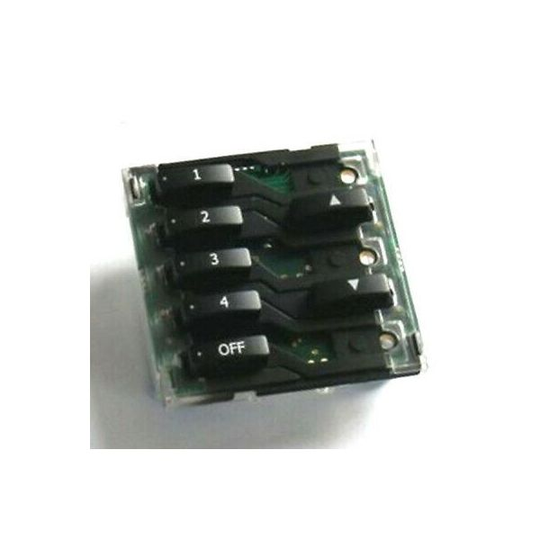 Rako WCM-070 hard wired 7 button push button control module for wired CAT-5 Wall Plate
