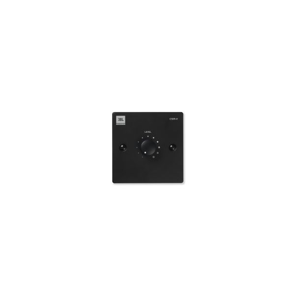 JBL CSR-V Black Volume Wall Plate Control Single Gang