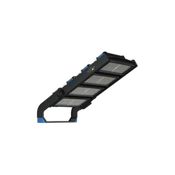 AK-FL02-1000W Dali or DMX Dimmable 1000W LED Stadium Flood Light with Meanwell Drivers for high end sports flood lighting