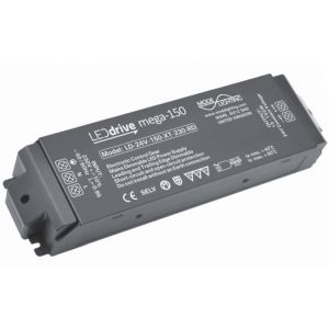 Mode Lighting Mega-150 LD-24-150-XT-230-RD Constant Voltage LED Driver - 24V DC 15-150W