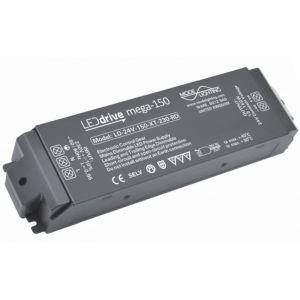 Mode Lighting Mega-150 LD-24-150-XT-230-RD Constant Voltage LED Driver - 24V DC 15-150W