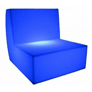 LED Middle Sofa RGB Battery Chargeable Colour Remote Controlled Furniture