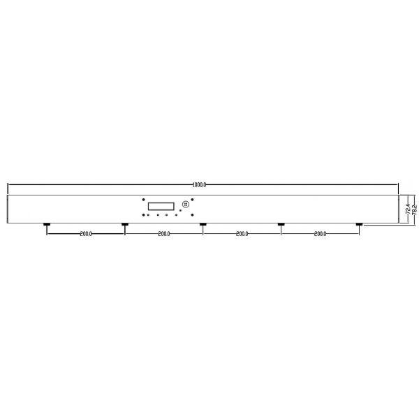LED Pixel Balls Vertical Pendant Lighting System Colour Display 360 degree RGB DMX Vertical Pendant Rope