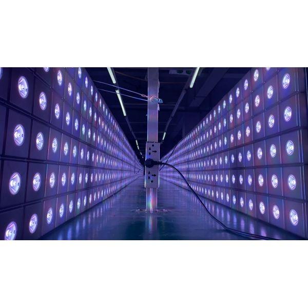 Akwil RGBWW LED Beam Matrix 500mm x 500mm 36 Pixel Panel System