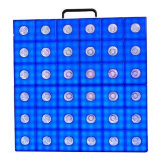 Akwil 288 RGB LED Pixel and 36 WW LED Beam Matrix 500mm x 500mm Panel System