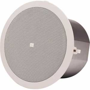 JBL Control 24CT Micro Pair of Flush Ceiling Mount Speakers in White