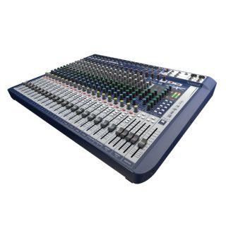 Signature 22 Analogue Mixer 22  Channel 4 EQ Bands 5 AUX