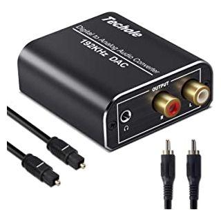 TOS Link ADAC Optical to RCA Converter