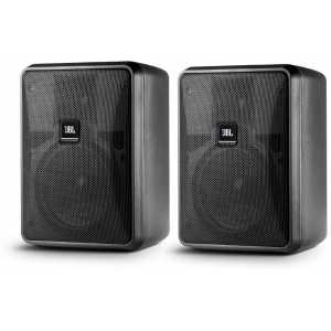 JBL Control 25-1L Black Pair of Speakers (8 Ohm Input Only)