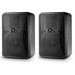 JBL Control 28-1L Pair in Black 8 Ohm Input Only
