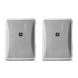 JBL Control 28-1L-WH Pair in White 8 Ohm Input Only