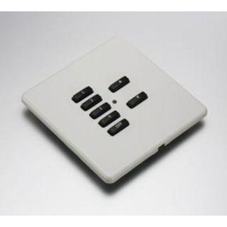 RLF-xxx-W White Fascia Cover Plate for Rako RMC & RCN Wireless Wallplates - with Hidden Screws