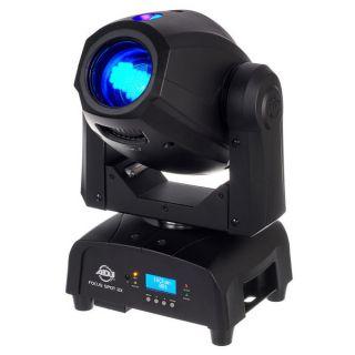 ADJ Focus Spot 2X -  American DJ 100W LED Pro Moving Head Unit with 3W UV LED