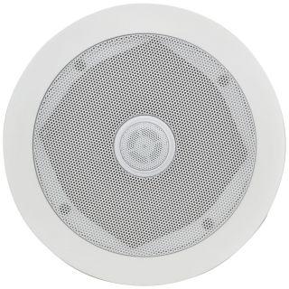 Adastra CC8V 60W Ceiling Speaker with Directional Tweeter - 100V Line CD Series 45Hz - 20kHz Frequency Range