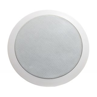 Adastra CC6V 50W 6.25 Inch Ceiling Speaker with Directional Tweeter - 100V Line CD Series 70Hz - 20kHz Frequency Range