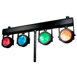 ADJ DOTZ TPAR SYSTEM DOT442 -  American DJ 4x COB LED Par Wash Light Fixtures RGBW LEDs 4-IN-1 LEDs