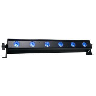 ADJ UB 6H 1/2-meter linear fixture powered by six 6-Watt HEX LEDs