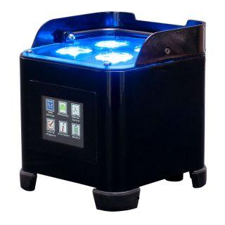 ADJ Element ST HEX battery powered wireless LED up-light 4x 6W HEX LEDs RGBWA UV