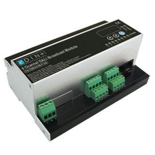 Mode Lighting DIN-DBM-32-08-PLUS eDIN DALI Broadcast Module (8 Channels of DALI Broadcast, c/w DALI Power Supply, eDIN Plus)