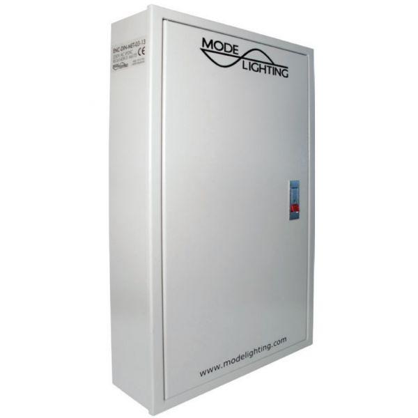 Mode ENC-DIN-01-13 DIN Rail Enclosure 1 Row of 13 Way, Metal Enclosure  285mm x 365mm x 115mm