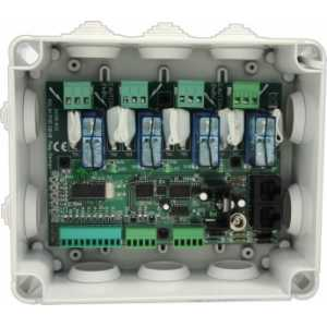 Relay-Pod-2 - Relay Podule with 4x 2KW mains rated relays RS232 and GPIO
