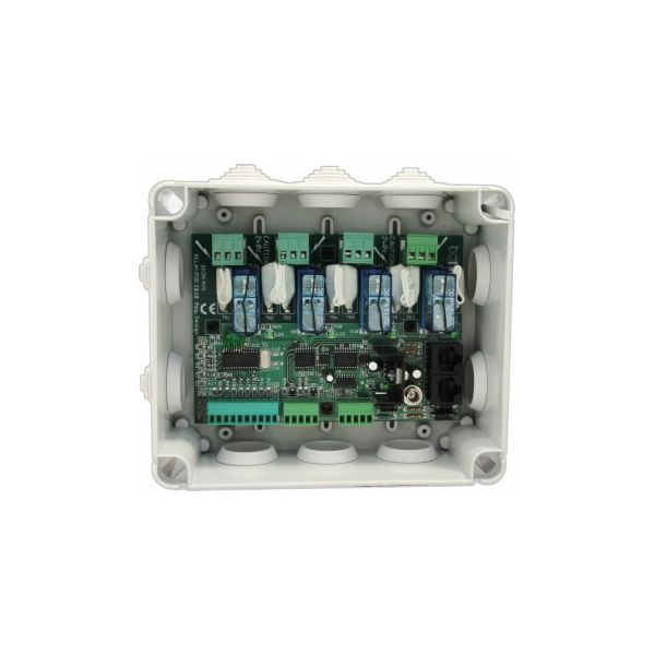 Relay-Pod-2 - Relay Podule with 4x2KW mains rated relays, RS232 & GPIO