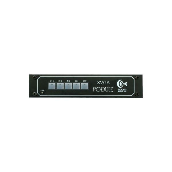 XVGA Pod - 4 input XVGA & Audio switch with dual buffered outputs
