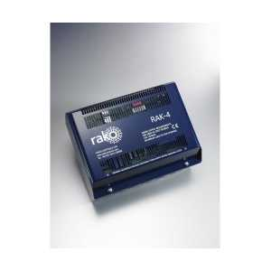 Rako RAK-4F 4 Channel dimming rack for 0-10v DSI and DALI broadcast lighting loads