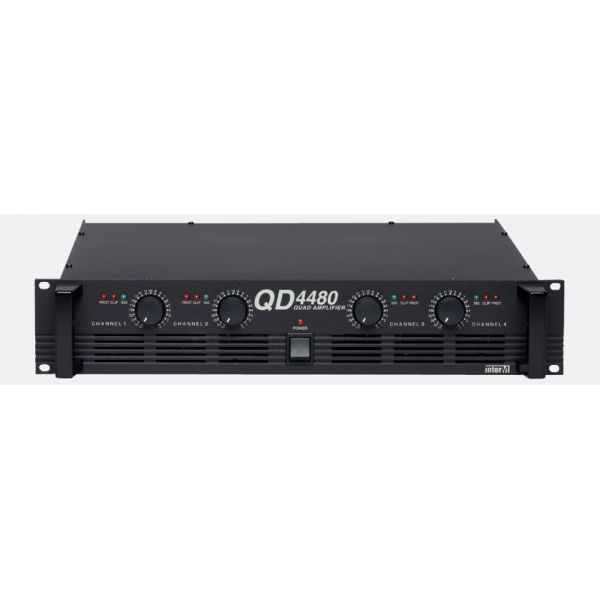 Inter-M - QD-4480 - Multi Channel Amplifier 4 x 120W - 4ohm