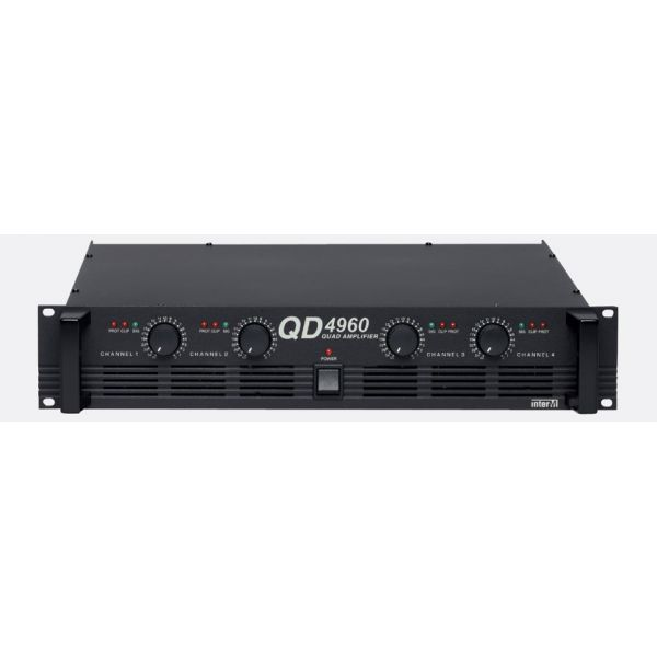 Inter-M - QD-4960 - Multi Channel Amplifier 4 x 240W - 4ohm