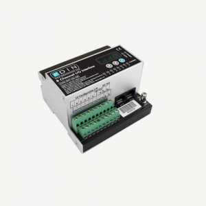 Mode eDIN Configurable Input / Output (8 selectable 1-10V, DSI or contact Inputs / 1-10V or DSI Outputs)