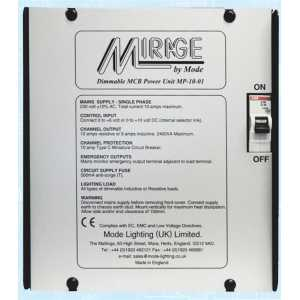 Mode Mirage Dimmable Power Unit MP-10-01(1 Channel of 10 Amps, Inductive 9 Amps)