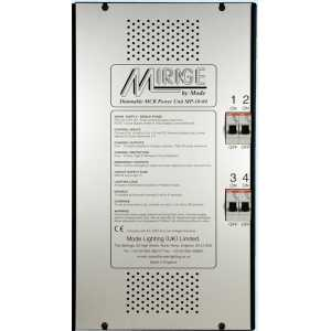 Mode Mirage Dimmable Power Unit MP-10-04 (4 Channels of 10 Amps, Inductive 9 Amps)
