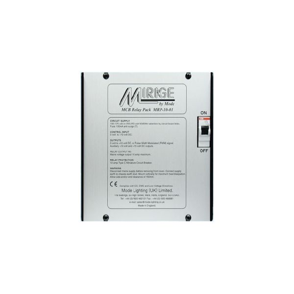 Mode Mirage Relay Unit MRP-10-01  (1 Channel of 10 Amps, with 1-10V, PWM)