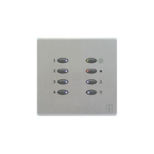 Mode SceneStyle2 Control Dimmer SCE-02-02-BLK (1 x 2 Amps, 1 x 1 Amp, Maximum 2 Amp, Black Buttons)