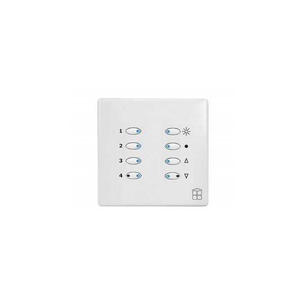 Mode SceneStyle2 Control Dimmer SCE-02-02-WHI (1 x 2 Amps, 1 x 1 Amp, Maximum 2 Amp, White Buttons)