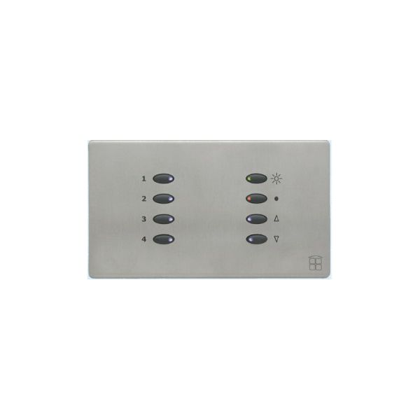 Mode SceneStyle4 Control Dimmer SCE-02-04-BLK (2 x 2 Amps, 2 x 1 Amp, Maximum 4 Amps, Black Buttons)