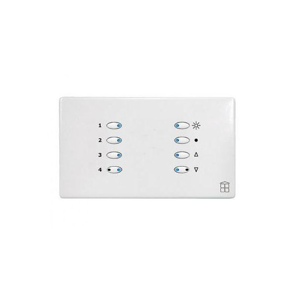 Mode SceneStyle4 Control Dimmer SCE-02-04-WHI (2 x 2 Amps, 2 x 1 Amp, Maximum 4 Amps, White Buttons)