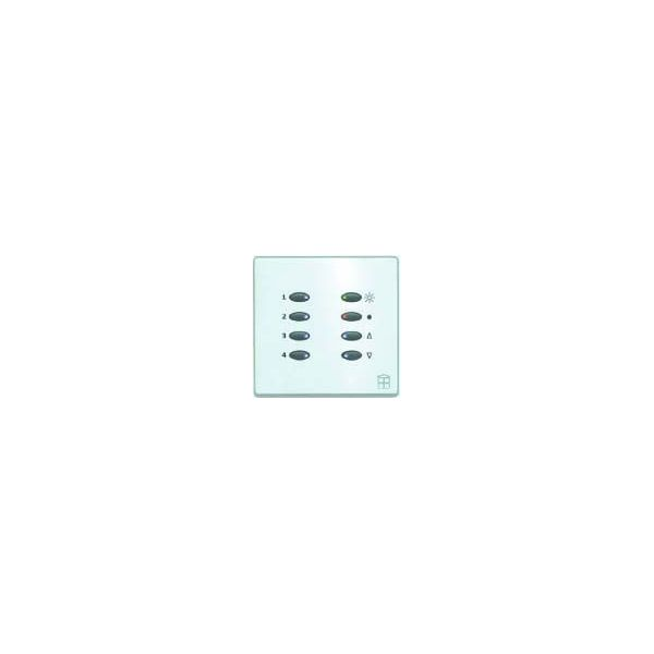 Mode SceneStyle2 Fascia SCE-02-POC-44 (8 Buttons, Single Gang, MK Aspect Polished Chrome)