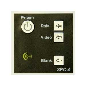 SPC-4 4 button display controller, with UK psu