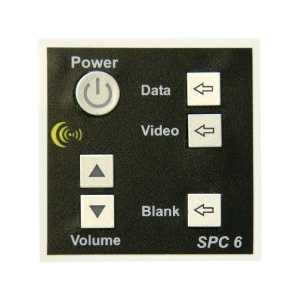 SPC-6 6 button display controller, with UK psu.