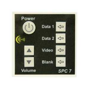 SPC-7 7 button display controller, with UK psu