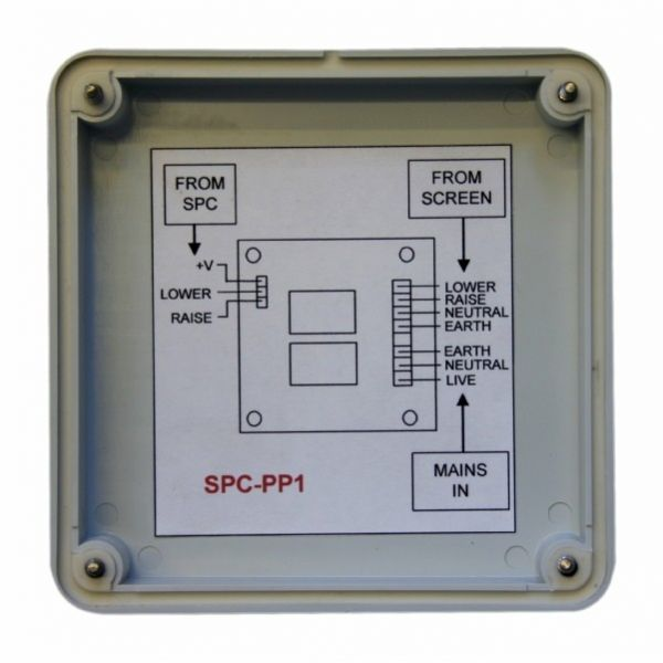 SPC-PP1 Twin 240V 3A relay pack for use with SPC screen control