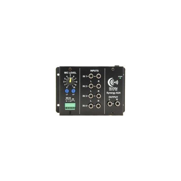 SGA-40 20 watt per channel stereo amplifier in a 50mm Euro format