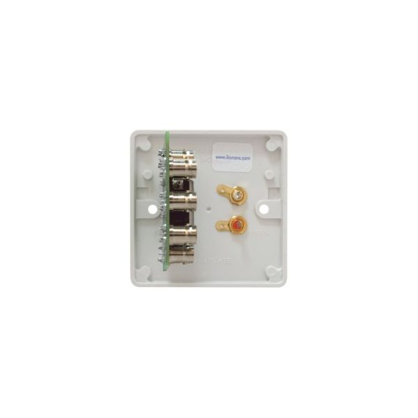 DADO-1G Dado-OEM on Engraved 1G plastic panel with 2 x Phonos