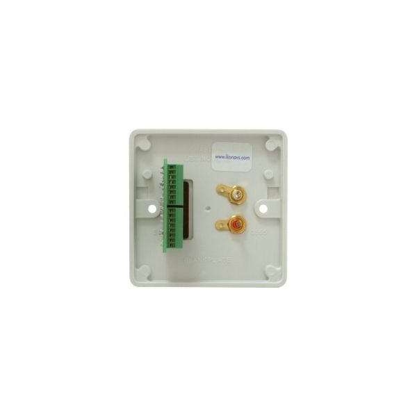 DADO-1G-ST Dado-ST on Engraved 1G plastic panel with 2 x Phonos