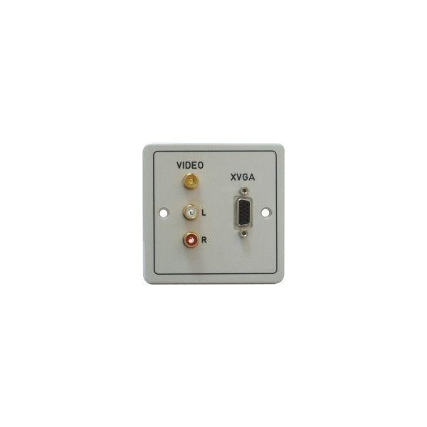 DADO-1G-J Dado-OEM on Engraved 1G plastic panel with 3.5mm stereo jack