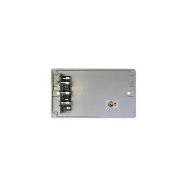 DADO-2G-PC Dado-OEM on Engraved 2G white plastic panel, no audio