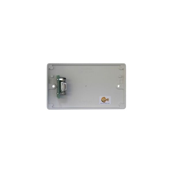 DADO-2G-90PC Dado-90P on Engraved 2G white plastic panel, no audio